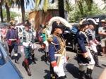 5 3 re enactors on parade
